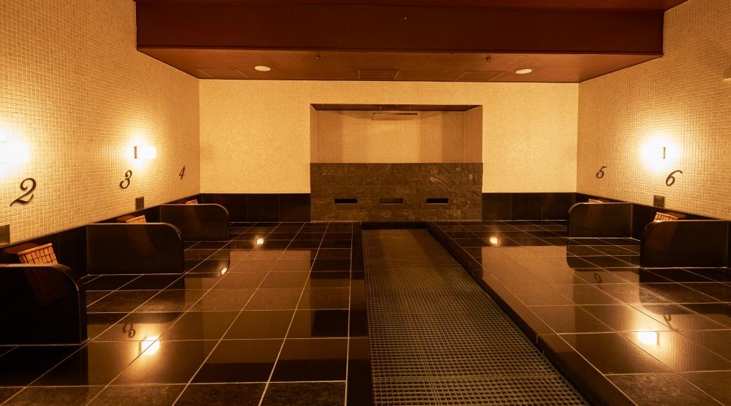 神戸レディススパの岩盤浴《テラルーム》